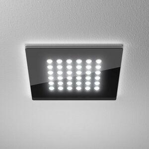 LTS LED downlight Domino Flat Square, 16 x 16cm, 11W
