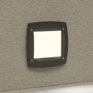 Fumagalli LED svietidlo Leti 100 Square čierne 3W CCT