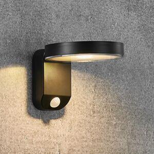 Nordlux Solárne nástenné LED svietidlo Rica Round, okrúhle
