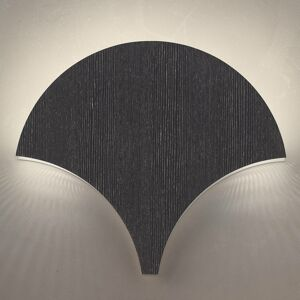 Masiero Nástenné LED svietidlo Palm čierna-strieborná