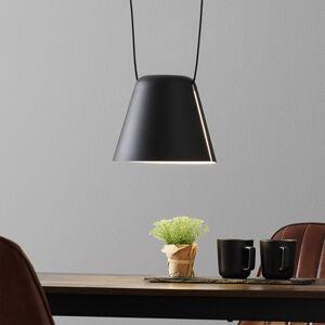 LEDS-C4 LEDS-C4 Attic závesná Zrezaný kužeľ 24cm čierna