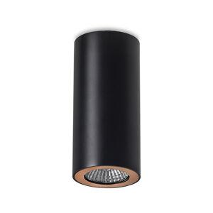 LEDS-C4 LEDS-C4 Pipe stropné bodové, 1-pl. čierno-zlaté