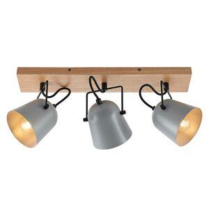 Lindby Lindby Adalin stropné svietidlo, 3-pl., sivá