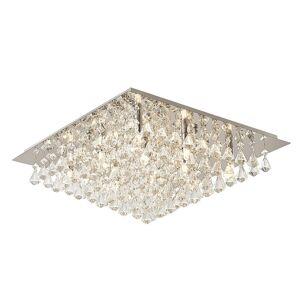 Lindby Lindby Rimedia stropné svietidlo, chróm 55 cm
