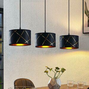 Lindby Lindby Sindri závesná lampa 3-plameňová