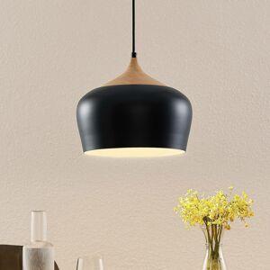 Lindby Lindby Vilsera závesná lampa v čiernej