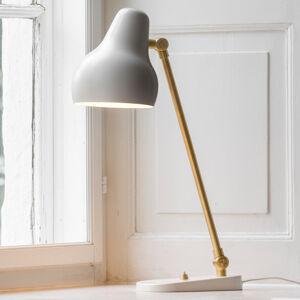 Louis Poulsen Louis Poulsen VL38 – stolná LED lampa, biela