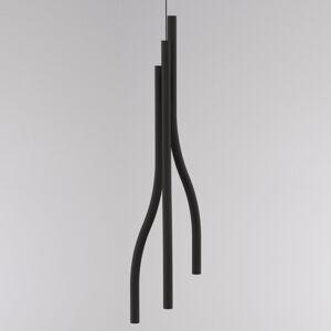 LOUM Loum Algae L závesná lampa Ø 23cm 2700K čierna