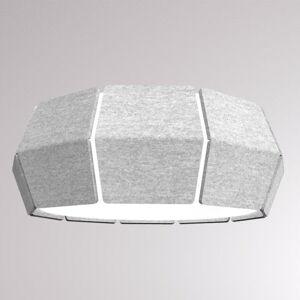 LOUM LOUM Decafelt stropné LED svietidlo Ø 54cm sivé