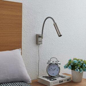 Lucande Lucande Anaella nástenné LED svietidlo nikel 47cm