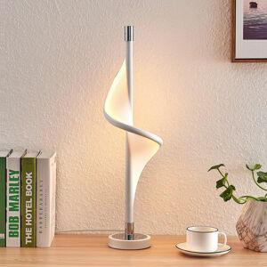 Lucande Lucande Edano stolná LED v zakrivenom tvare
