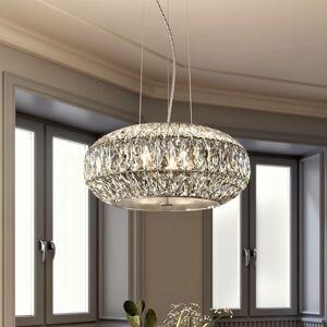 Lucande Lucande Onivira krištáľová závesná lampa