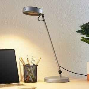 Lucande Lucande Vilana LED stolná lampa, strieborná