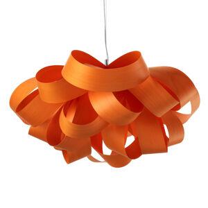 LZF LamPS LZF Agatha Small závesná lampa, 78x76cm, oranžová
