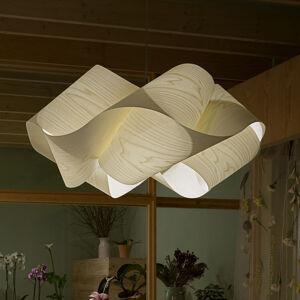 LZF LamPS LZF Swirl závesná lampa Ø 54cm, slonovina