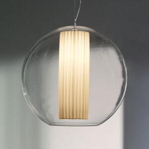 MODO LUCE Modo Luce Bolla závesná lampa látka biela Ø 60cm