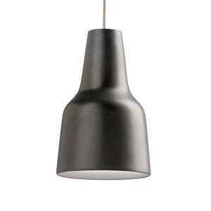MODO LUCE Modo Luce Eva závesná lampa Ø 38cm tmavohnedá