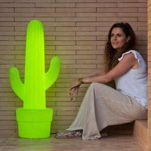 NEWGARDEN Newgarden Kaktus stojaca lampa, citrónovo-zelená