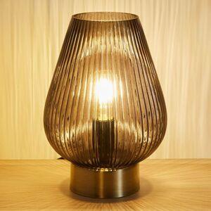 PAULEEN Pauleen Crystal Gloom stolná lampa zo skla
