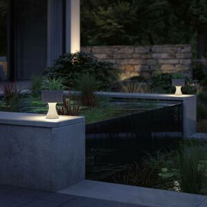 Paulmann Paulmann Concrea dekoračná LED lampa, kvetináč