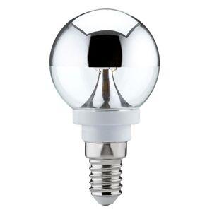 Paulmann Paulmann E14 zrkadlová LED 2,5W teplá biela