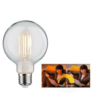 Paulmann Paulmann LED globe žiarovka E27 7W dim to warm