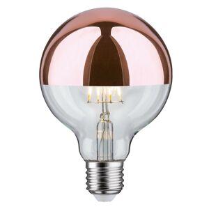 Paulmann Paulmann LED zrkadlová hlava E27 6,5W 827 G95 meď