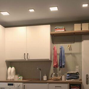 Paulmann Paulmann LED panel Areo 3000K hranatý 11,8cm biely