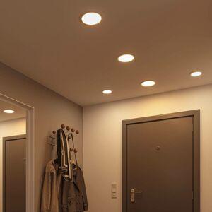 Paulmann Paulmann LED panel Areo 4000K okrúhly chróm 11,8cm
