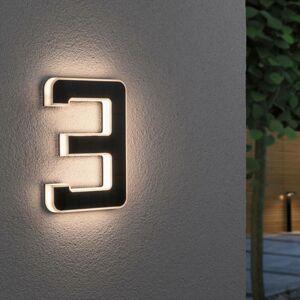 Paulmann Paulmann solárne LED číslo domu 3
