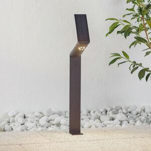 Paulmann Paulmann solárne chodníkové LED Ilias, antracit