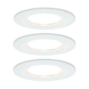 Paulmann Paulmann Nova zapustené LED 3 kusy pevné biele