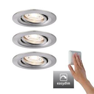 Paulmann Paulmann Nova mini Plus LED easydim 3 kusy železo