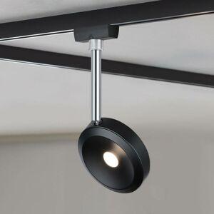 Paulmann Paulmann URail LED svetlo Discus čierne stmieva