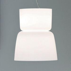 PRANDINA Prandina Bloom S5 závesná lampa biela
