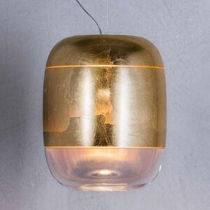 PRANDINA Prandina Gong S3 závesná lampa zlatá