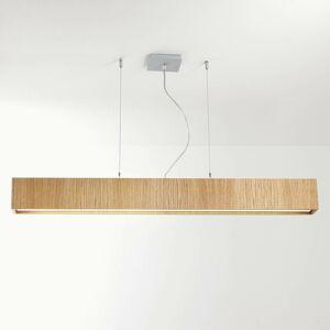 B.lux Quadrat S závesné LED svietidlo 120x10, dub
