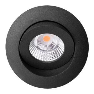 THE LIGHT GROUP Quick Install Allround 360° svetlo čierne 2700K