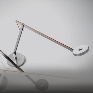Rotaliana Rotaliana String stolná LED lampa, strieborná