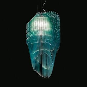 Slamp Slamp Avia Edition M Turquoise závesná lampa
