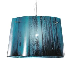Slamp Slamp Woody – lampa s prelínaním farieb, modrá