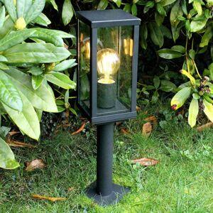 Eco-Light Soklové svietidlo Karo so snímačom súmraku