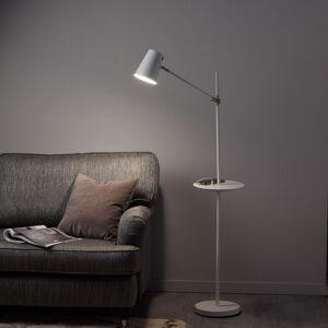Markslöjd Stojaca lampa Linear nabíjacia stanica USB, biela