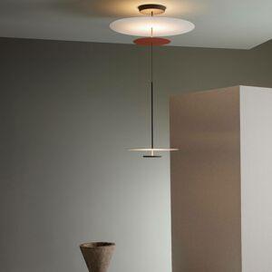 Vibia Vibia Flat závesné LED 3-pl. Ø 90cm terakota