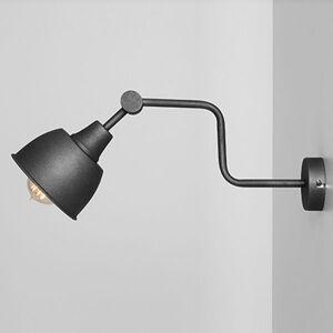 ALDEX Nástenné svietidlo 990, jedno-plameňové, čierne