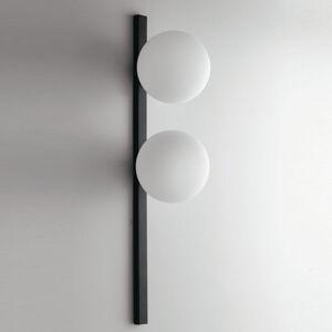 Eco-Light Nástenné svietidlo Enoire v čiernej a bielej, 2-pl